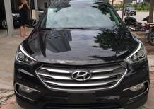 Bán xe Hyundai Santa Fe 2.2L 4WD 2016, màu đen,Biển tp siêu mới