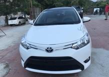Xe Toyota Vios E 2018, màu trắng