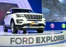 Ford Explorer 2.3L Ecoboots 2017, nhập khẩu Mỹ, giao xe ngay. LH: 090.217.2017