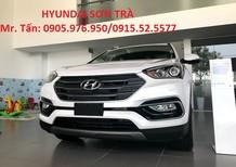 Cần bán Hyundai Santa Fe đời 2018, màu trắng, nhập khẩu nguyên chiếc, giá 898tr