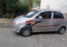 Cần bán Chevrolet Spark đời 2009, màu bạc