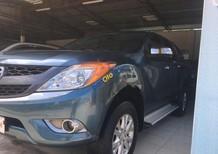 Bán Mazda BT 50 3.2l sản xuất 2013, màu xanh lam, xe nhập