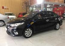 Bán ô tô Toyota Vios 1.5E sản xuất 2015, màu đen số sàn