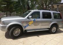 Bán Ford Everest sản xuất 2006, màu bạc, xe gia đình ít chạy, không kinh doanh, máy dầu
