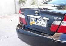 Bán Toyota Camry 2.4G đời 2003, màu đen