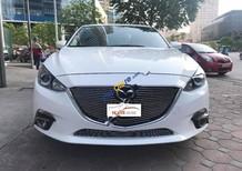 Bán xe Mazda 3 1.5AT 2015, màu trắng số tự động, giá 620tr