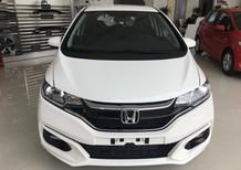 Honda Jazz 2018, màu trắng, nhập khẩu nguyên chiếc Thái Lan giá cực hấp dẫn, nhiều quà tặng