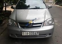 Cần bán xe Daewoo Lacetti EX đời 2011, màu bạc, 255 triệu