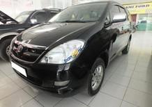 Bán Toyota Innova G đời 2008, màu đen số sàn, giá 360tr