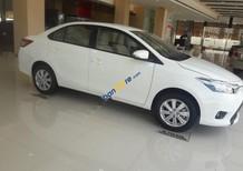 Bán Toyota Vios 1.5E đời 2018, màu trắng giá cạnh tranh