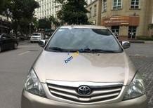 Bán Toyota Innova 2.0G năm sản xuất 2010, màu vàng ít sử dụng