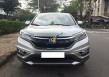 Bán Honda CR V 2.0 AT sản xuất 2015, màu bạc. Đăng ký tên tư nhân chính chủ
