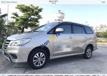 Cần bán gấp Toyota Innova E năm 2015, màu bạc