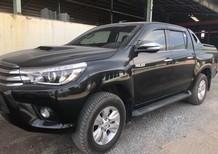 Cần bán gấp Toyota Hilux 2016, màu đen, nhập khẩu,3.0,2 cầu