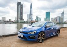 Bán xe Volkswagen Scirocco 2.0L TSI đời 2017, màu xanh lam, nhập khẩu nguyên chiếc
