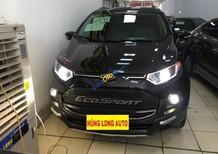 Bán Ford EcoSport Titanium 1.5AT đời 2017, màu đen