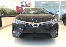 Bán Toyota Corolla Altis 1.8E CVT 2018 - màu đen - Hỗ trợ trả góp 90%, bảo hành chính hãng 3 năm/hotline: 0898.16.8118