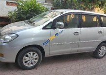 Cần bán Toyota Innova G năm sản xuất 2011, màu bạc xe gia đình, 475tr