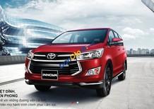 Cần bán xe Toyota Innova Venturer năm sản xuất 2018, màu đỏ, giá chỉ 855 triệu