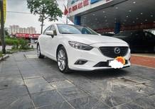 Cần bán xe Mazda 6 2.5AT 2015, màu trắng