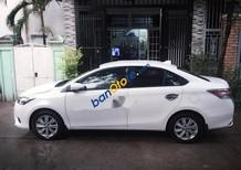 Bán Toyota Vios E sản xuất 2016, màu trắng