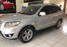 Bán Hyundai Santa Fe SLX 2010, màu bạc, nhập khẩu nguyên chiếc