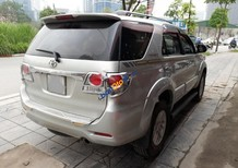 Bán Toyota Fortuner 2.7V sản xuất năm 2013, màu bạc