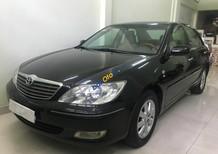 Bán xe Toyota Camry sản xuất 2003, màu đen, nhập khẩu, giá tốt