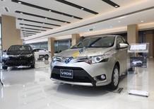 Bán xe Toyota Vios 1.5G năm 2018, màu vàng giá tốt