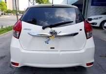 Cần bán xe Toyota Yaris 1.5G năm sản xuất 2017, màu trắng, nhập khẩu