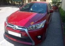 Cần bán gấp Toyota Yaris 1.5G đời 2017, màu đỏ, xe nhập chính chủ