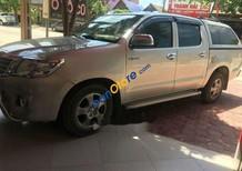Cần bán Toyota Hilux sản xuất năm 2010, màu bạc, giá tốt