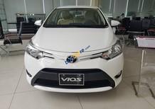 Bán xe Toyota Vios 1.5 E đời 2018, màu trắng, giá chỉ 513 triệu, trả trước 165tr, hỗ trợ vay với lãi suất ưu đãi