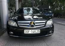 Bán Mercedes C200 đời 2009 màu đen