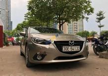 Bán Mazda 3 2.0 AT sản xuất năm 2015, màu vàng giá cạnh tranh