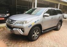 Cần bán xe Toyota Fortuner 2.4G 4x2 MT đời 2017, màu bạc, nhập khẩu chính chủ