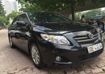 Bán Toyota Corolla sản xuất năm 2009, màu đen, xe nhập, 475 triệu