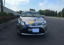 Cần bán gấp Toyota Vios năm 2017, màu bạc chính chủ giá cạnh tranh