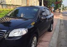 Cần bán gấp Daewoo Gentra SX 1.5 MT đời 2009, màu đen xe gia đình, giá chỉ 182 triệu