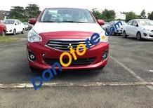 Cần bán Mitsubishi Attrage năm sản xuất 2017, màu đỏ, nhập khẩu nguyên chiếc