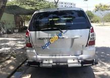 Cần bán lại xe Toyota Innova E đời 2013, màu bạc, 417tr
