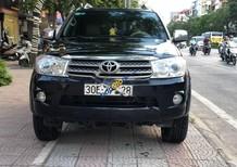 Bán Toyota Fortuner 2.5G 2010, màu đen