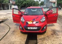 Cần bán lại xe Kia Morning MT đời 2014, màu đỏ như mới, giá 225tr