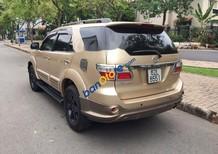 Bán Toyota Fortuner V sản xuất 2009, màu vàng cát