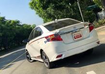 Cần bán gấp Toyota Vios 1.5 TRD 2017, màu trắng số tự động, giá tốt
