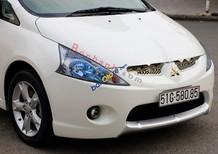 Cần bán xe Mitsubishi Grandis 2.4 AT đời 2011, màu trắng xe gia đình
