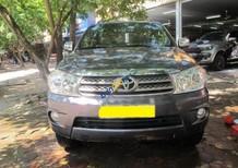 Cần bán lại xe Toyota Fortuner 2.7V sản xuất năm 2010, màu xám