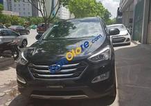 Cần bán Hyundai Santa Fe 2.4L Full xăng, sản xuất 2015, màu đen, 945tr