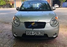 Cần bán lại xe Kia Morning SLX đời 2008, màu bạc, nhập khẩu