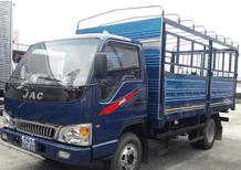 Bán xe tải JAC 2T4 thùng bạc hỗ trợ trả góp